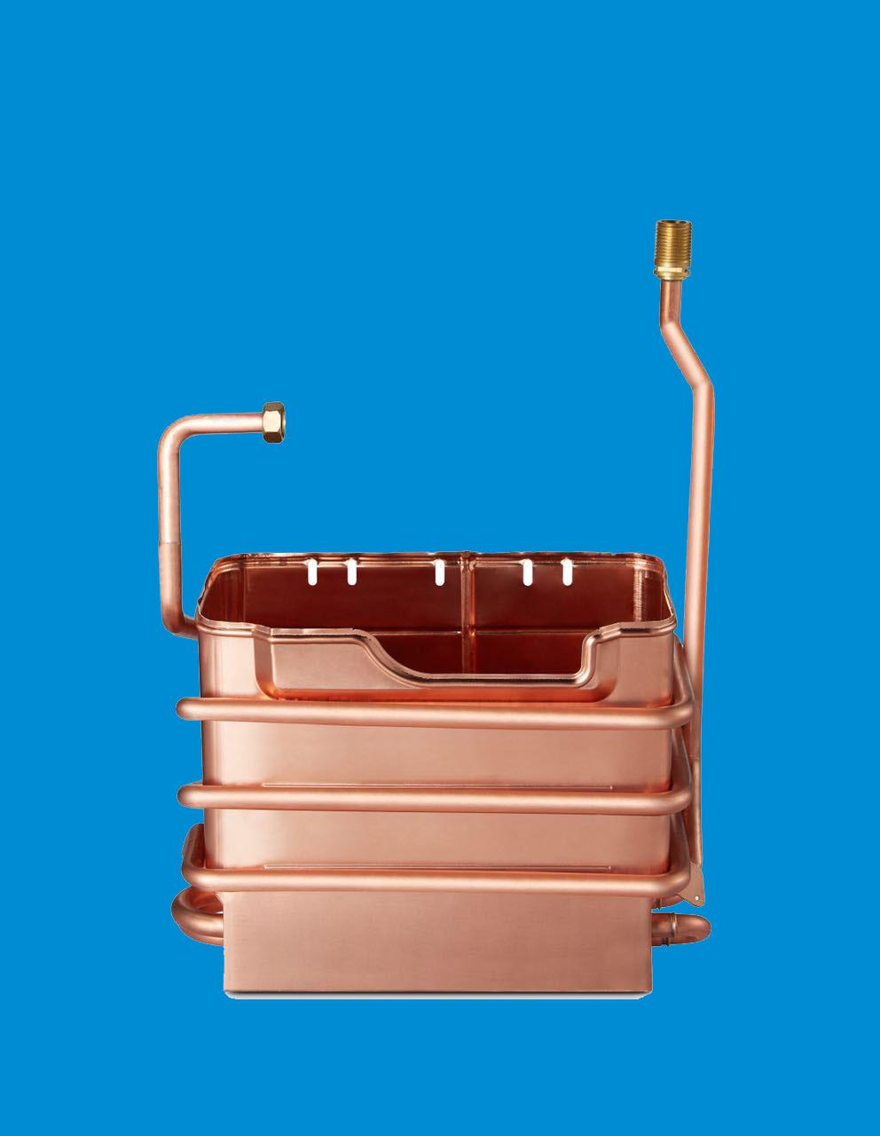 8L烟道水箱